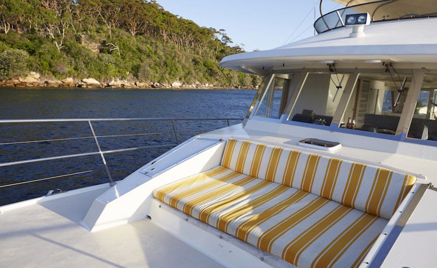 boat hire on John Oxley deck