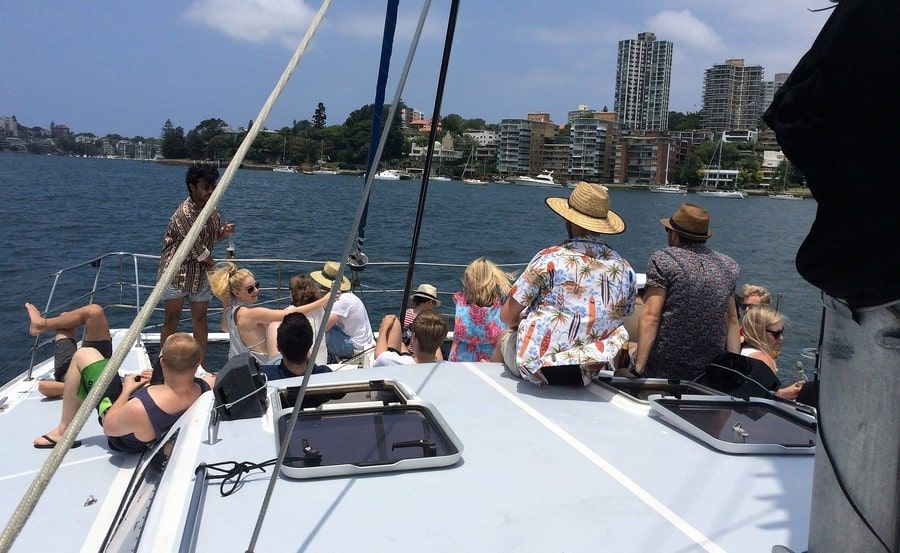 Harbour Cruises on Seabird Seven unobstructed views