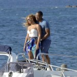 Superyacht Celebrities beyonce-and jayz enjoying the superyacht galactica-6