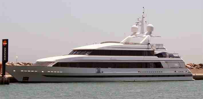 eric clapton owns this 155 foot superyacht