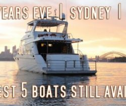 New Years Eve Cruises - The Best 5!