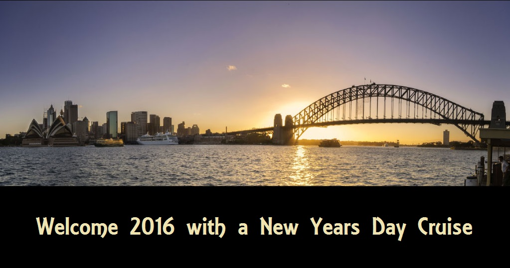 Welcome 2016 With a New Years Day Cruise on Sydney Harbour