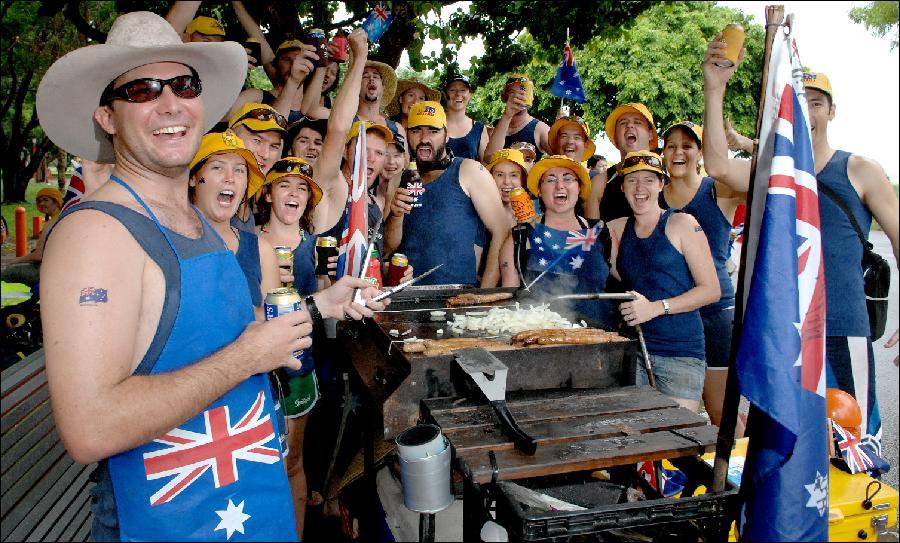 Australia Day - BBQ cheers mate