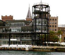 Quay waterside restaurants external