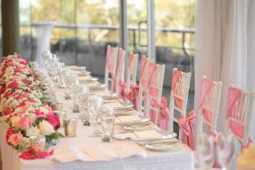 Taronga Centre wedding table setting