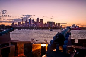 Wedding Venues Fort Denison Cannons